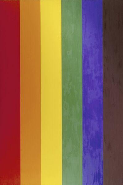 Ross Bleckner, 'Double Portrait (Gay Flag)', 1993