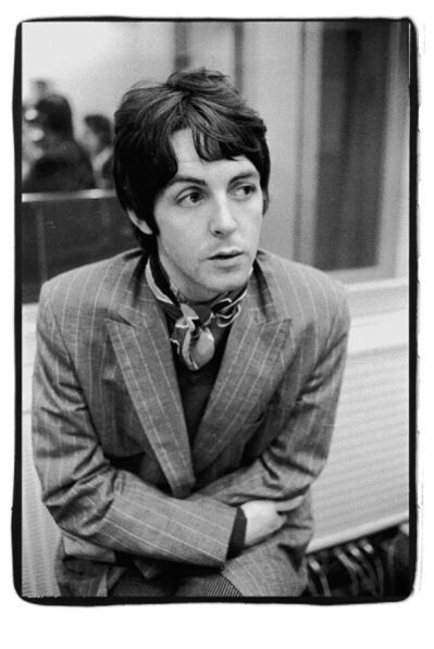 Gered Mankowitz, 'Paul McCartney, Pinstripe. Decca Studios, London.  ', 1966