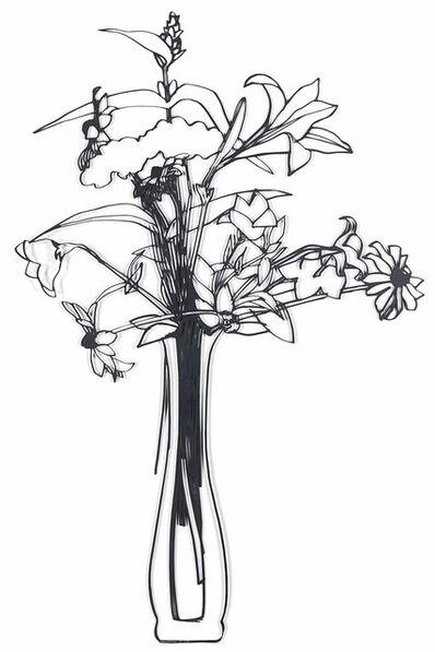 Tom Wesselmann, 'Steel Drawing/Wildflower Bouquet Edition', 1987