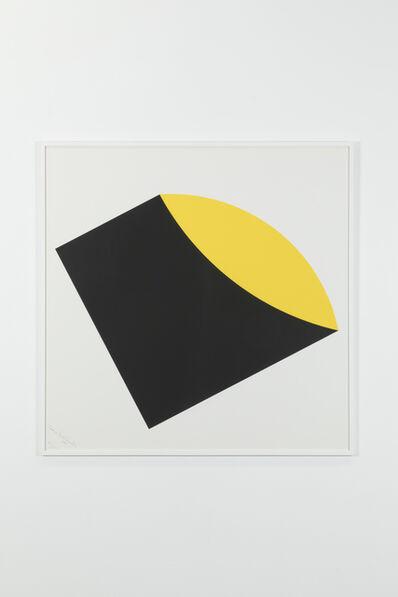 Leon Polk Smith, 'Black-Yellow, 105/125', 1983