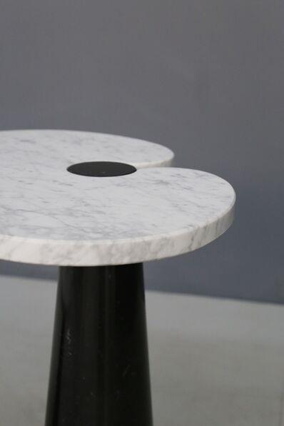Angelo Mangiarotti, 'Mangiarotti Coffe Table Skipper series, original label in marble, 1970S', 1970