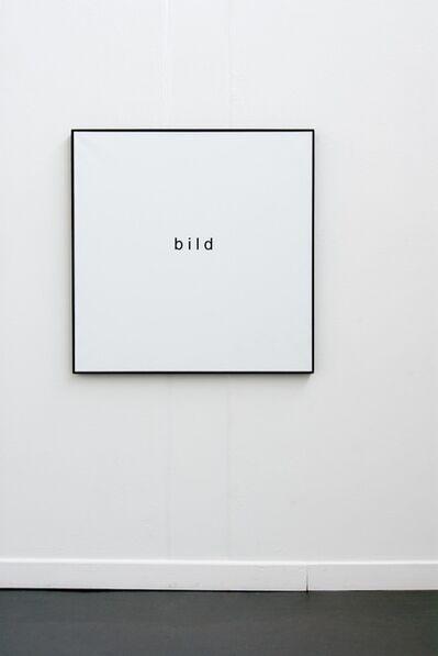 Timm Ulrichs, 'bild', 1994