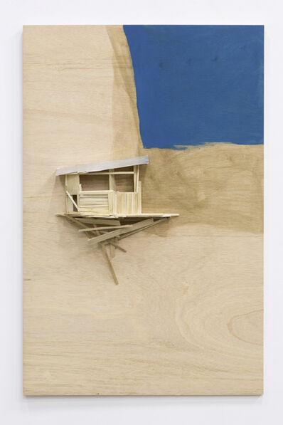 Tadashi Kawamata, 'Tree hut public building study 25', 2018