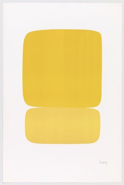 Ellsworth Kelly, 'Yellow over Yellow'