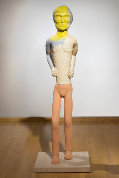 Ruby Neri, 'Walking Man (yellow face)', 2014