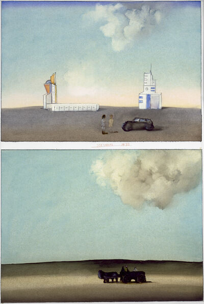 Saul Steinberg, 'Abidjan', 1973
