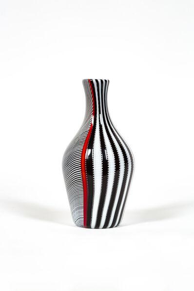 Gianni Versace, 'Smoking glass vase', ca. 1998