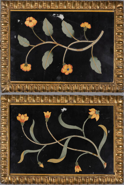 Florence, 'Pair of Panels with Flowers', 1620-40