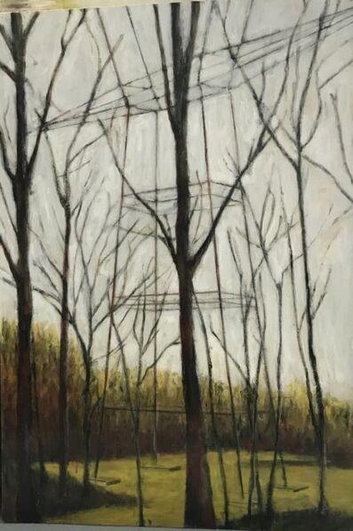 """Nicolas Canu, '""""Une forme dans les bois""""', 2018"""