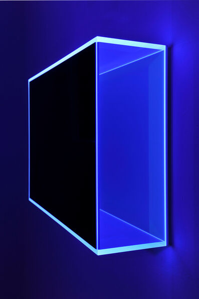 Regine Schumann, 'Colormirror black glow after cologne', 2019