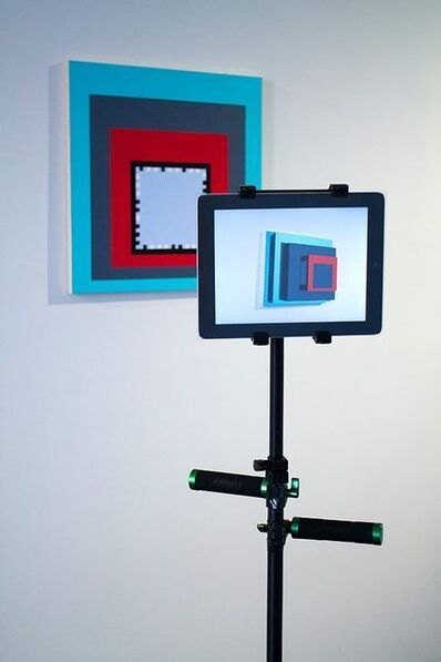 GH Hovagimyan, 'Augmented Reality Painting (Albers Boxes)', 2014