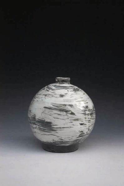 Kang Hyo Lee, 'Puncheong Oval Bottle'