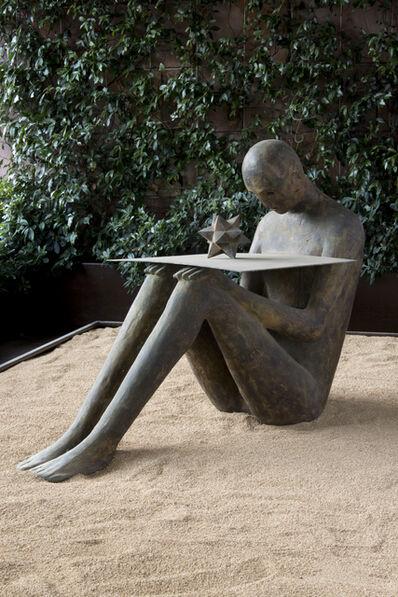 Mimmo Paladino, 'Figura con stella', 2000