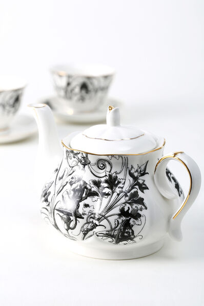 Zhao Yiqian 趙一淺, 'HuXi Gothic Themed Tea Set'