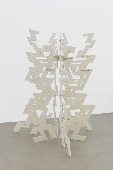 Henning Fehr and Philipp Rühr, 'Festival Sculpture (Absent Healing)', 2016