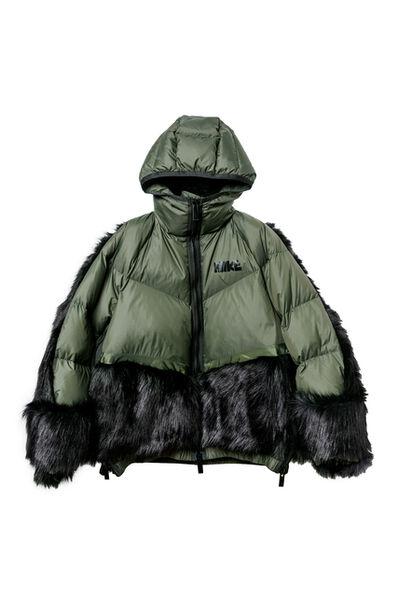 Sacai, 'Nike x Sacai Khaki/Black Puffer Coat Fall 2020', 2020