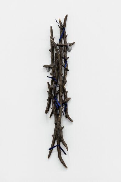 Tomás Díaz Cedeño, 'Camino con varas de huizache I', 2019