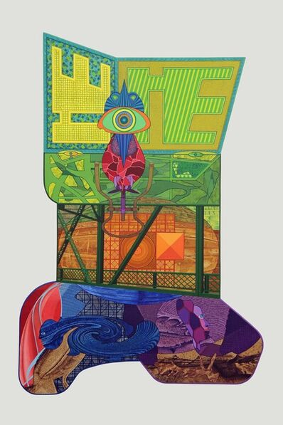 David Wetzl, 'The Function of the Bridge is Going Down to a Lower Level and Moving Upwards', 2014
