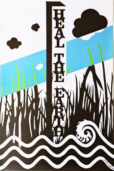 Allan D'Arcangelo, 'Heal The Earth (Hand Signed) ', 1970