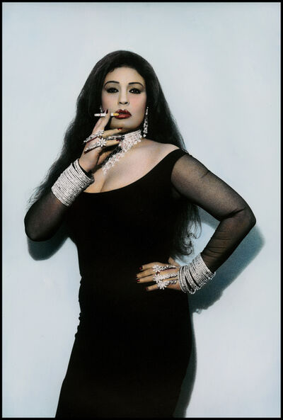 Youssef Nabil, 'Fifi with a Cigarette, Cairo', 2000