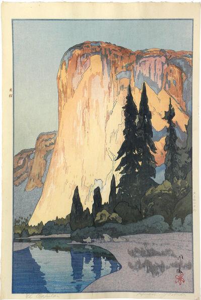 Yoshida Hiroshi, 'The United States Series: El Capitan ', 1925