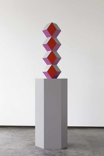 Angela Bulloch, 'Totem Pillar: Royal', 2017