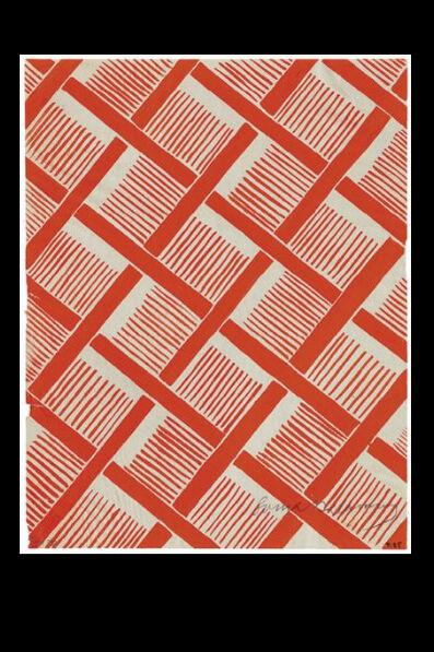 Sonia Delaunay, 'Projet de tissu T.85', ca. 1930