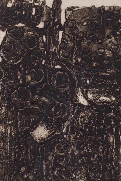 Albert Dumouchel, 'Remparts d'Avila', 1961