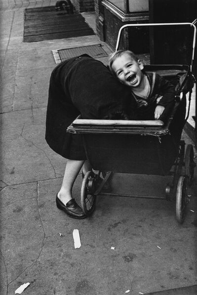 Helen Levitt, 'N.Y. (baby carriage).', 1980s