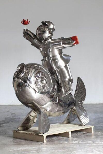 Jiang Shuo 蒋朔, '荷花骑士; Lotus Flower Rider', 2012
