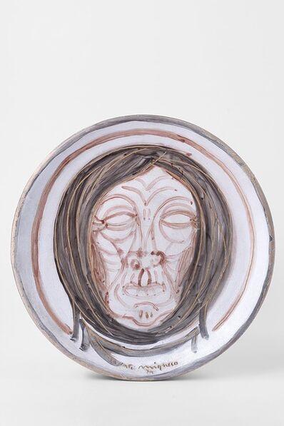 Giuseppe Migneco, 'Face', 1974
