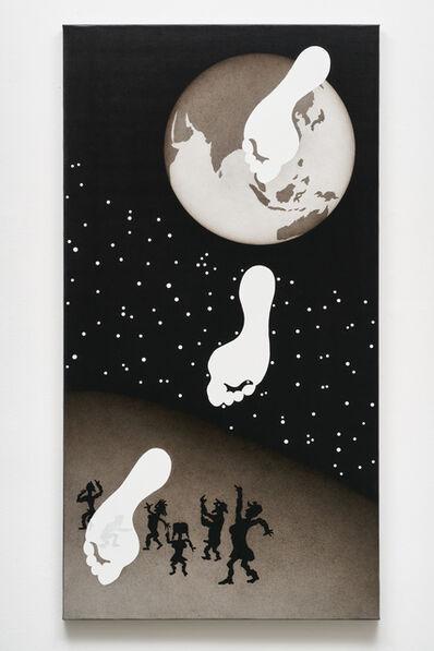 Rune Mields, 'Genesis: Die drei Schritte des Trivikrama (Indien)', 2011