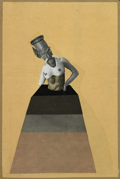 Hannah Höch, 'Ohne Titel, aus der Serie: aus einem ethnographischen Museum (Untitled, from the series: From an Ethnographic Museum)', 1929
