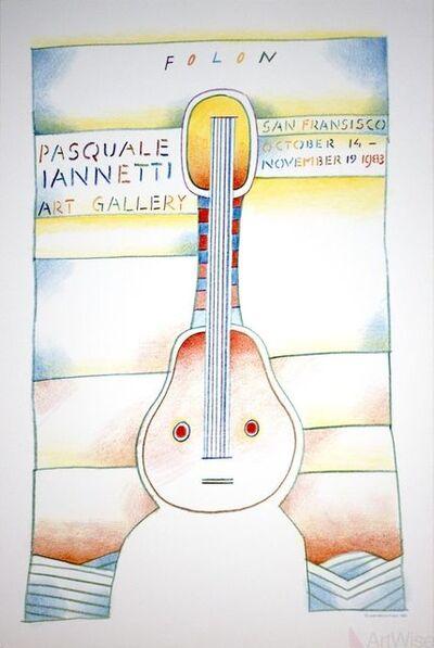 Jean Michel Folon, 'Pasquale Iannetti Art Gallery', 1983