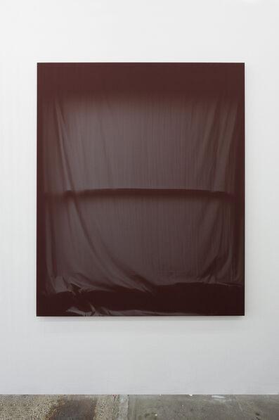 Chris Duncan, 'Bedroom Window (Maroon) 6 Month Exposure. Spring-Fall 2014', 2015
