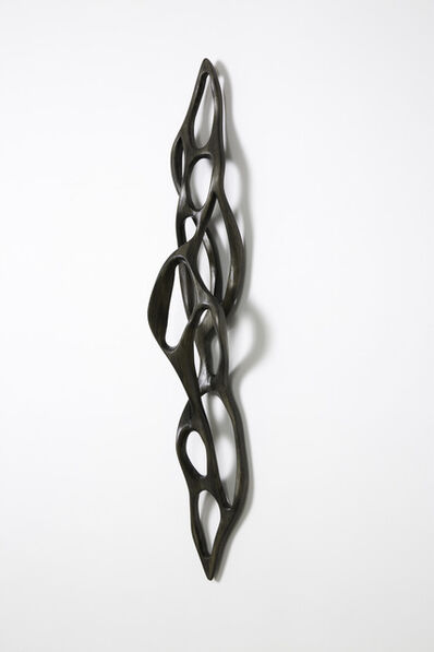 Caprice Pierucci, 'Charcoal Linear Loop I', 2018