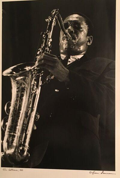 Henri Dauman, 'John Coltrane', 1960