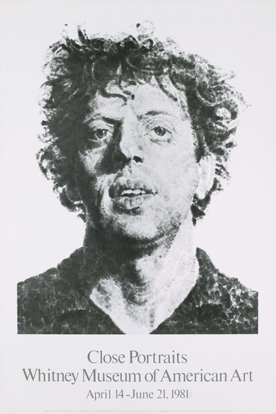 Chuck Close, 'Large Phil Fingerprint', 1981