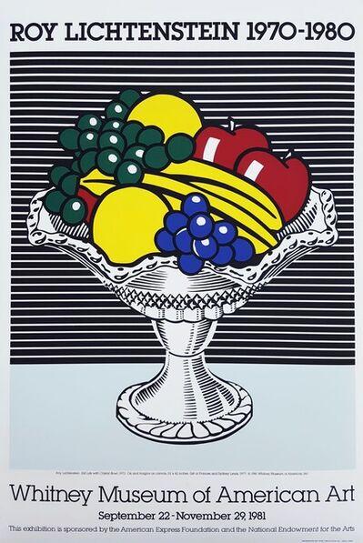 Roy Lichtenstein, 'Roy Lichtenstein at the Whitney Museum (Still Life with Crystal Bowl)', 1981