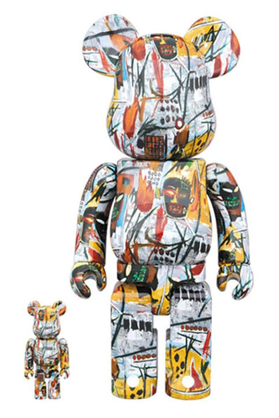 Jean-Michel Basquiat, 'Basquiat Bearbrick #1 400% Companion (Basquiat BE@RBRICK)', 2017