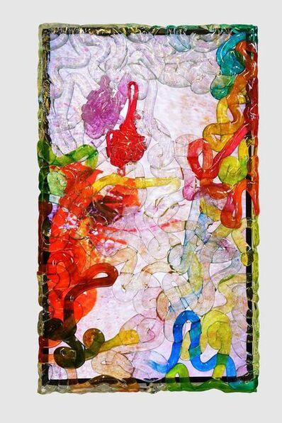 Pipilotti Rist, 'Wasserschatz (Rubinrot) <Water Treasure (Rubin Red)>', 2019