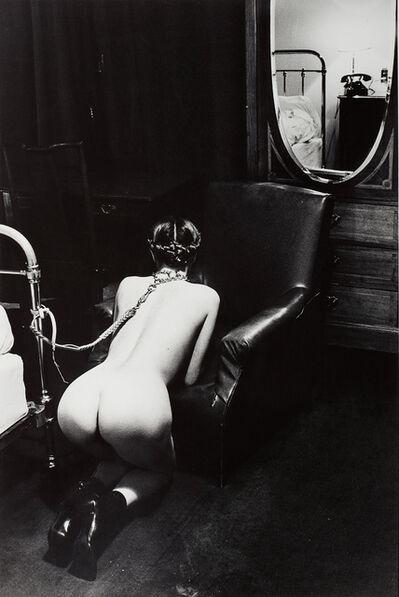 Helmut Newton, 'Hotel Room, Place de la République, Paris', 1976