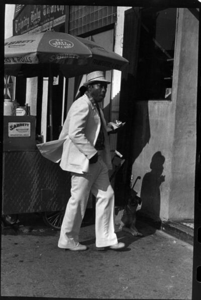 Ming Smith, 'Homeboy with Snack, Harlem, New York', 1976