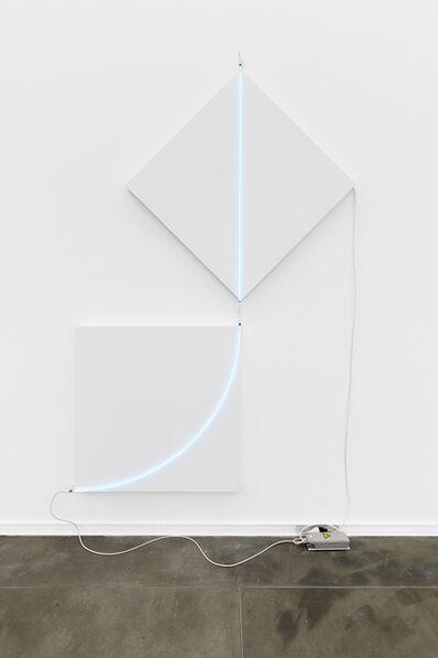 François Morellet, 'Fuite n°1', 2013