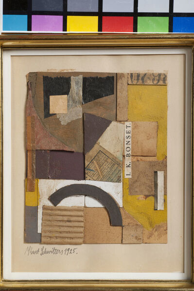 Kurt Schwitters, 'Untitled (I.K. Bonset)', 1925