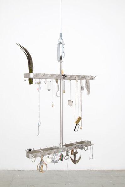 Anneliese Schrenk, 'Fleischgehänge/Leberhaken', 2019