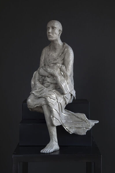 "Hanneke Beaumont, 'White bronze #134, ""untitled""', 2016"