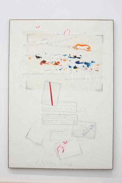 Alighiero Boetti, 'Senza titolo (Cartoline astratte in una giornata dell'amato vento...)', 1989