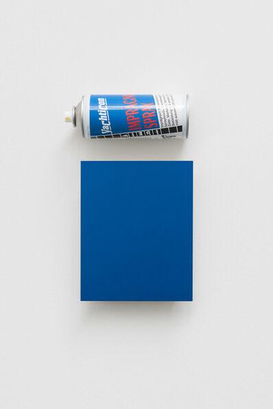 Florian Slotawa, 'CHRYSLER AB5 (ELECTRIC BLUE)', 2016
