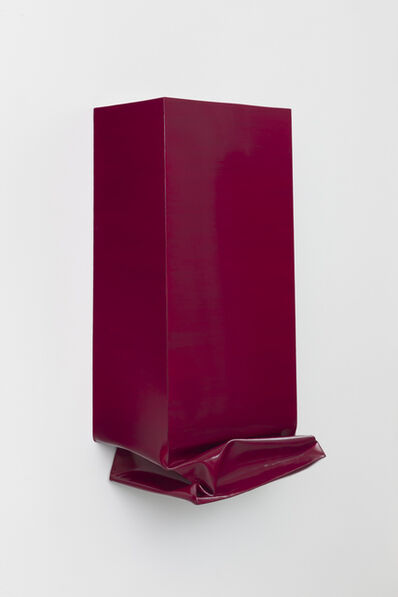 Angela de la Cruz, 'Throw (Magenta)', 2013